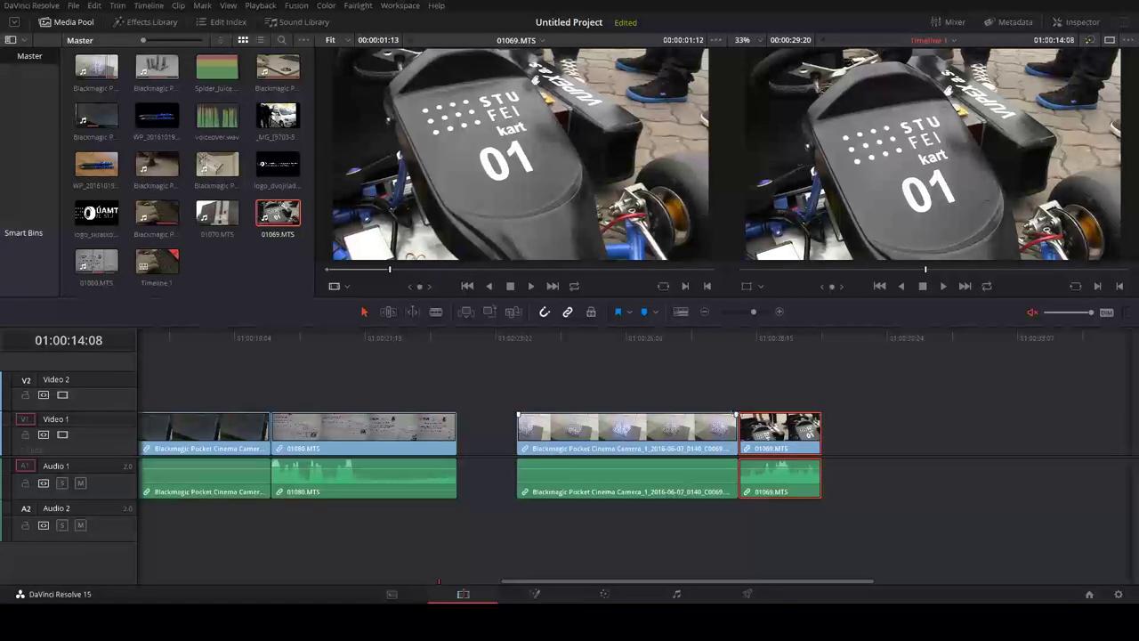 DaVinci Resolve 15 – základy strihu videa – videotutoriál